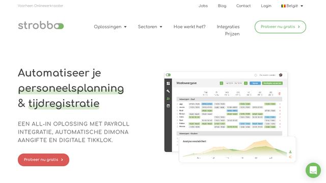 Onlinewerkrooster API koppeling