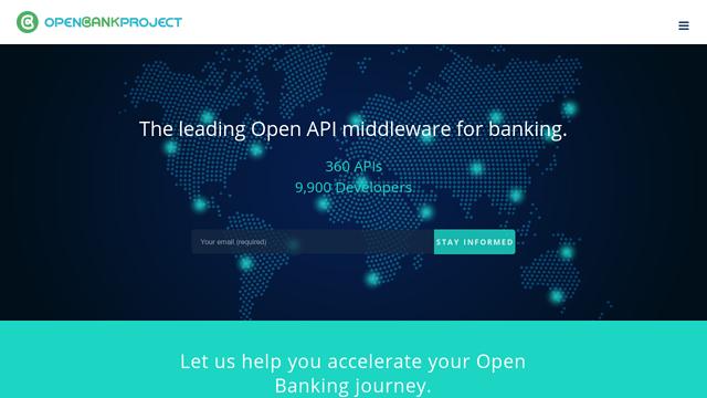 Open-Bank-Project API koppeling