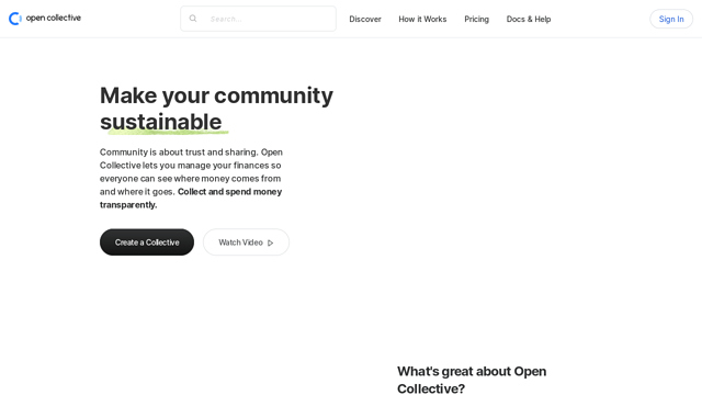 Open-Collective API koppeling