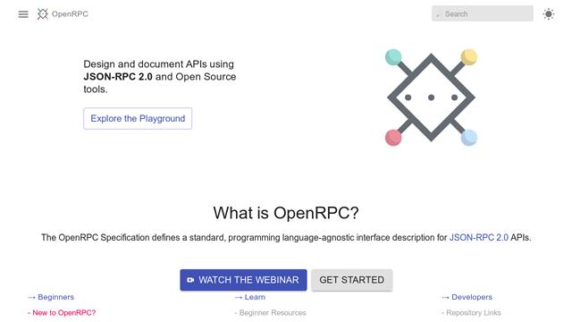 OpenRPC API koppeling
