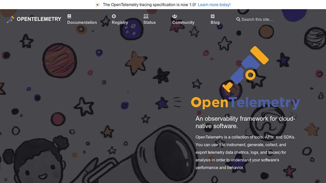 OpenTelemetry API koppeling