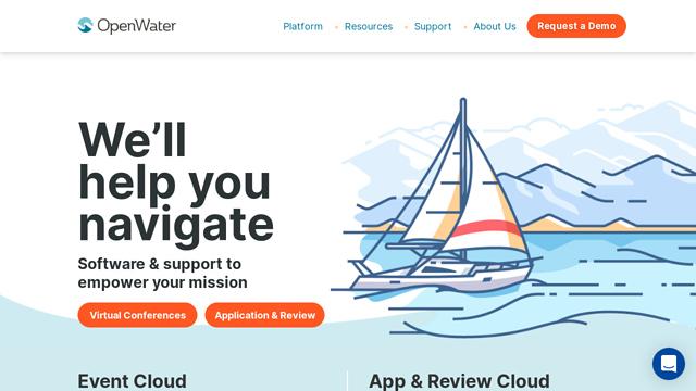 OpenWater API koppeling