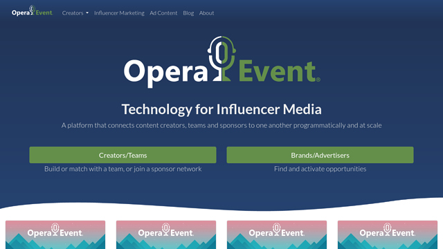 Opera-Event API koppeling