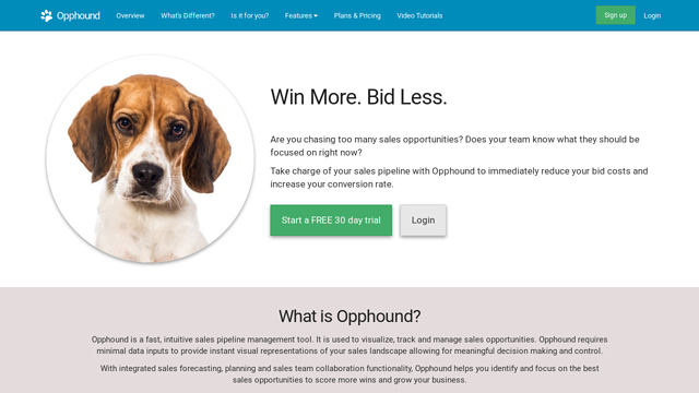 Opphound API koppeling