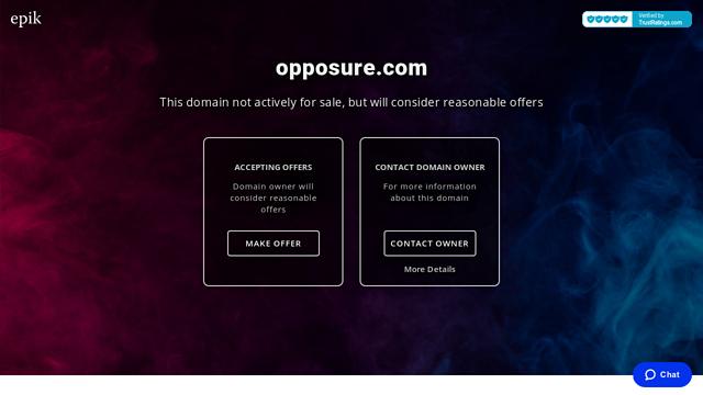 Opposure API koppeling