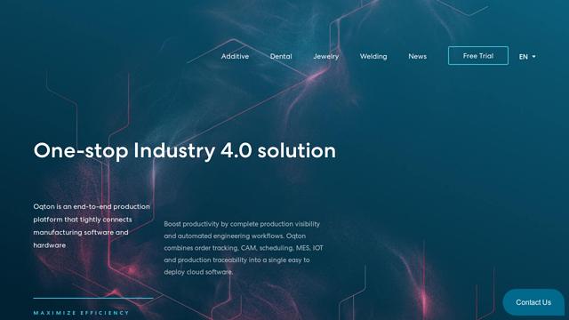 Oqton API koppeling