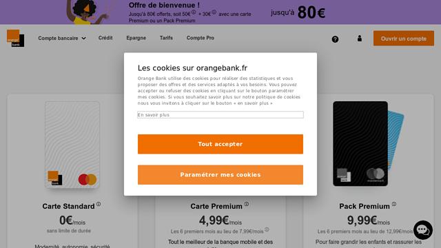 Orange-Bank API koppeling