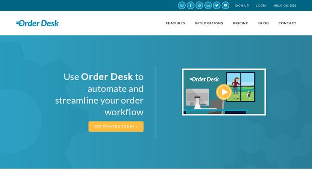 Order-Desk API koppeling