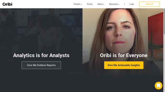 Oribi API koppeling