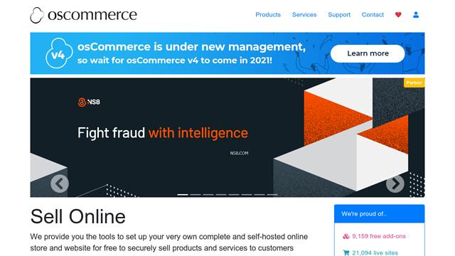 osCommerce API koppeling