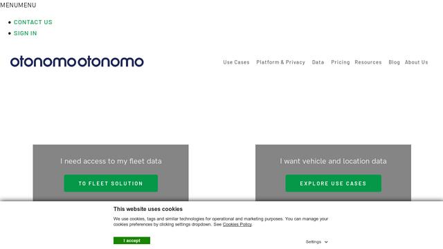 otonomo API koppeling