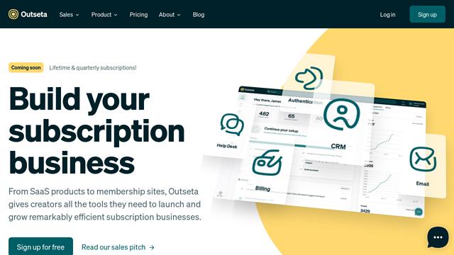 Outseta API koppeling