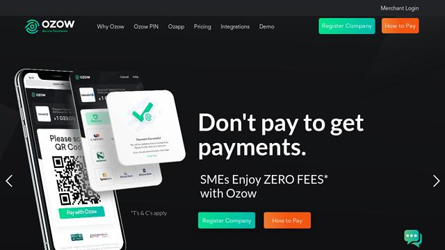 Ozow API koppeling