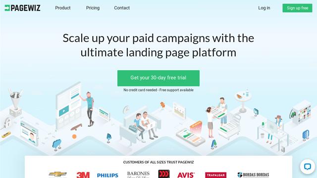 PageWiz API koppeling