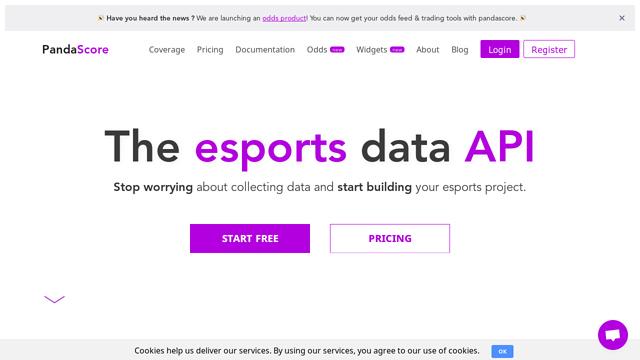 PandaScore API koppeling