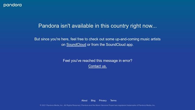 Pandora API koppeling