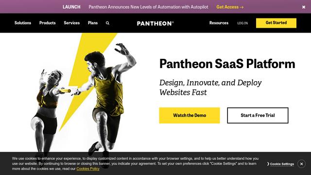 Pantheon API koppeling
