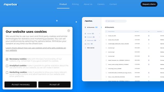 Paperbox API koppeling