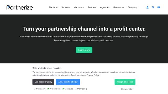 Partnerize API koppeling
