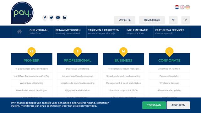 PAY.nl API koppeling