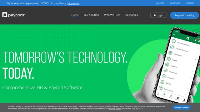 Paycom API koppeling
