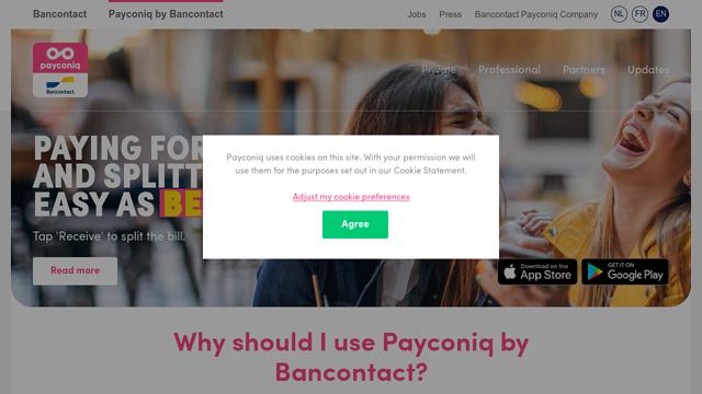 Payconiq-by-Bancontact API koppeling