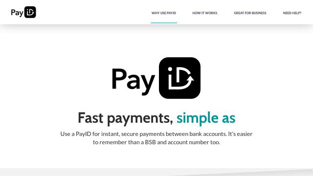 PayID API koppeling