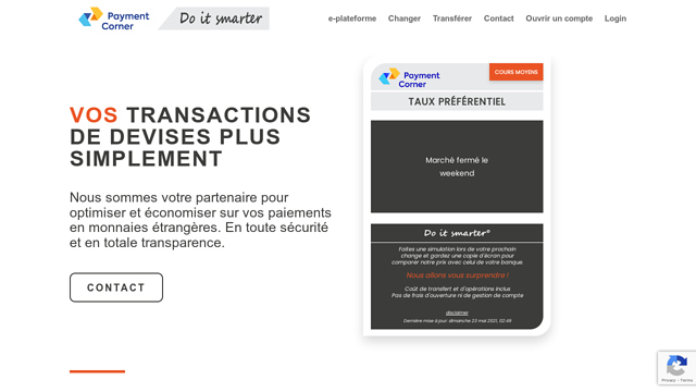 Payment-Corner API koppeling