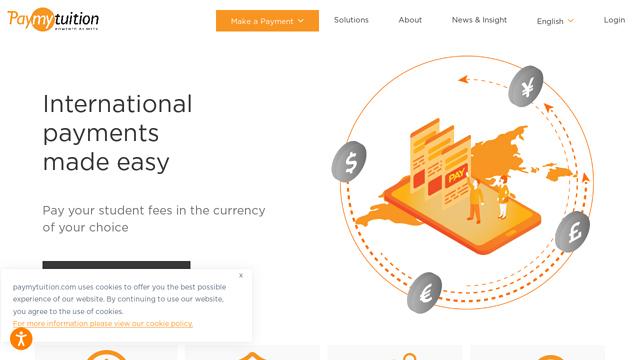 PayMyTuition API koppeling