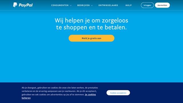 PayPal API koppeling