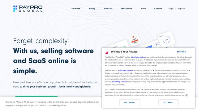 PayPro-Global API koppeling