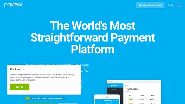 Payrexx API koppeling