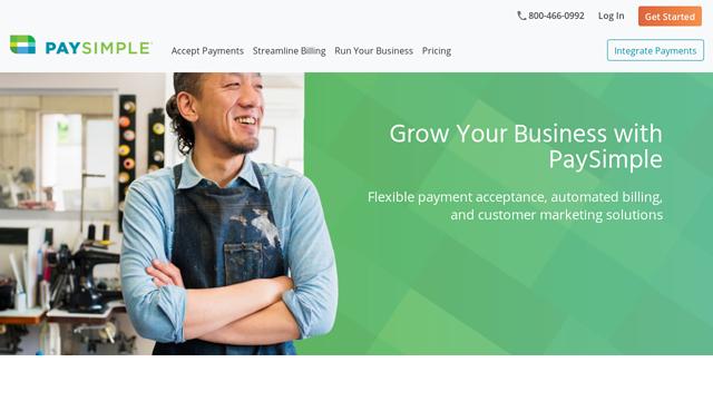 PaySimple API koppeling