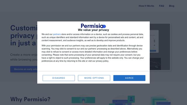 permisio API koppeling