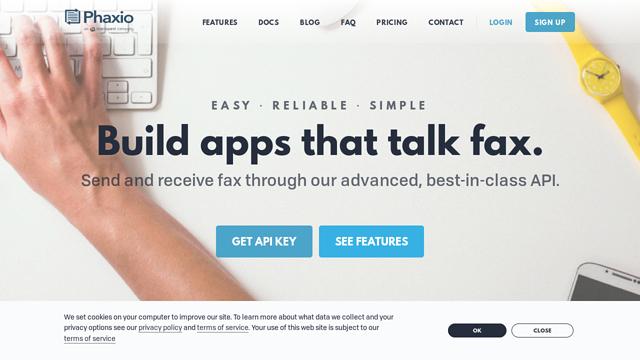 Phaxio API koppeling