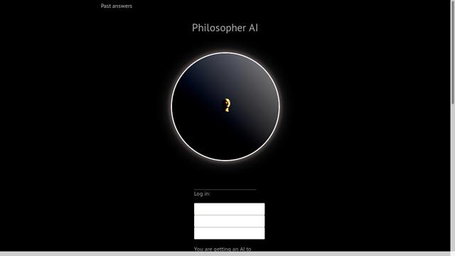 Philosopher-AI API koppeling