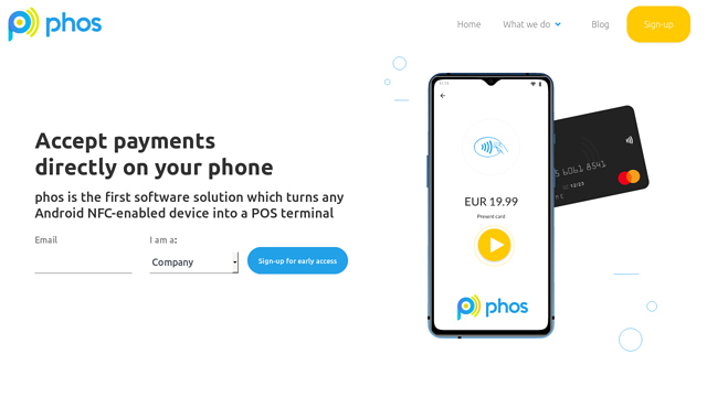 Phos API koppeling
