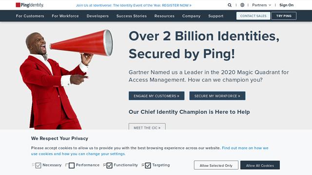 Ping-Identity API koppeling