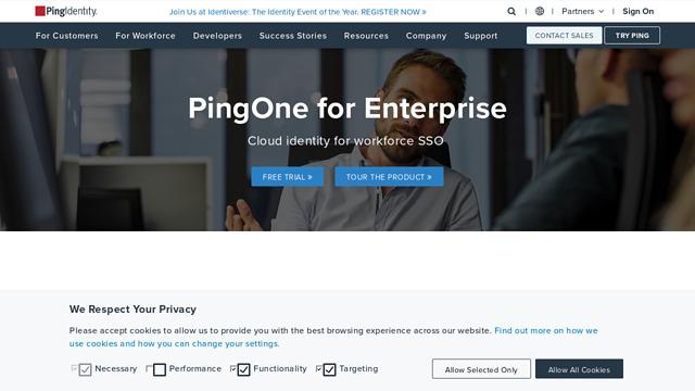 PingOne API koppeling