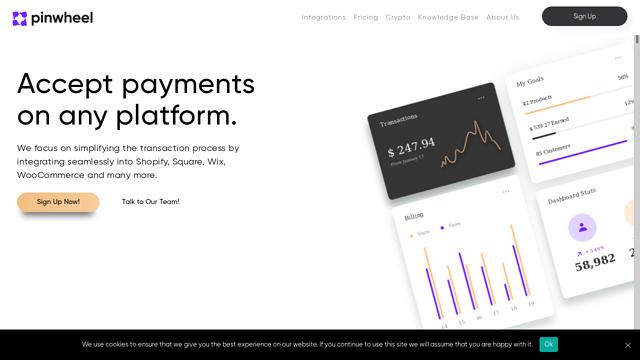 Pinwheel-Pay API koppeling