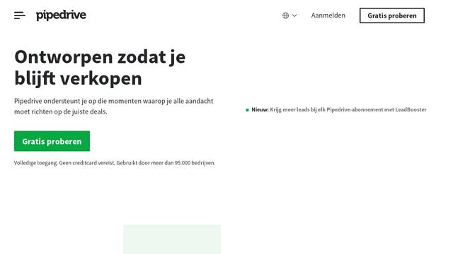 Pipedrive API koppeling