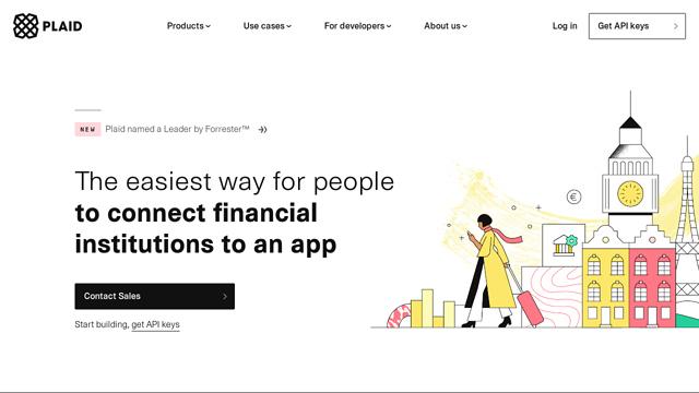 Plaid API koppeling