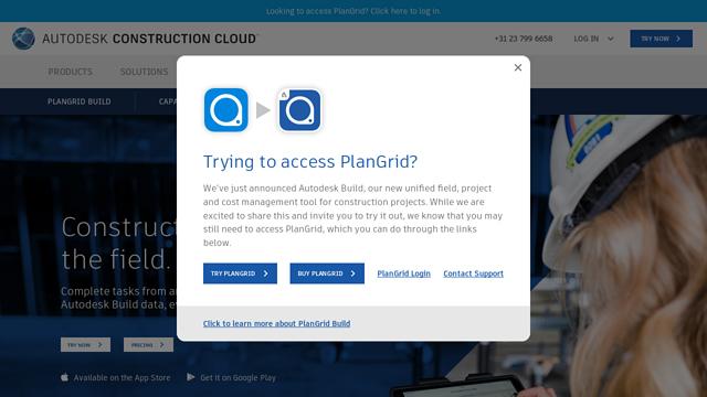 PlanGrid API koppeling