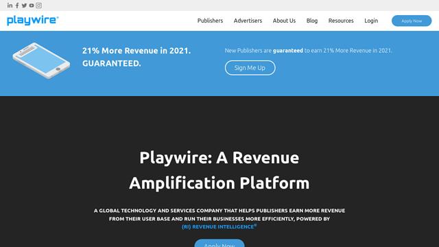 Playwire API koppeling
