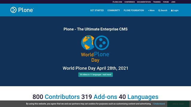 Plone API koppeling
