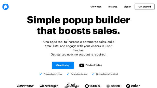 POPUPSMART API koppeling