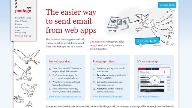PostageApp API koppeling