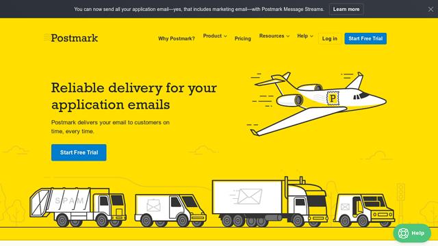 Postmark API koppeling