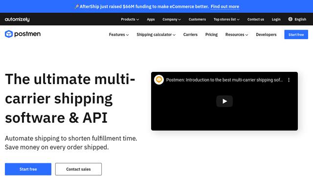Postmen API koppeling