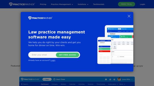 PracticePanther API koppeling